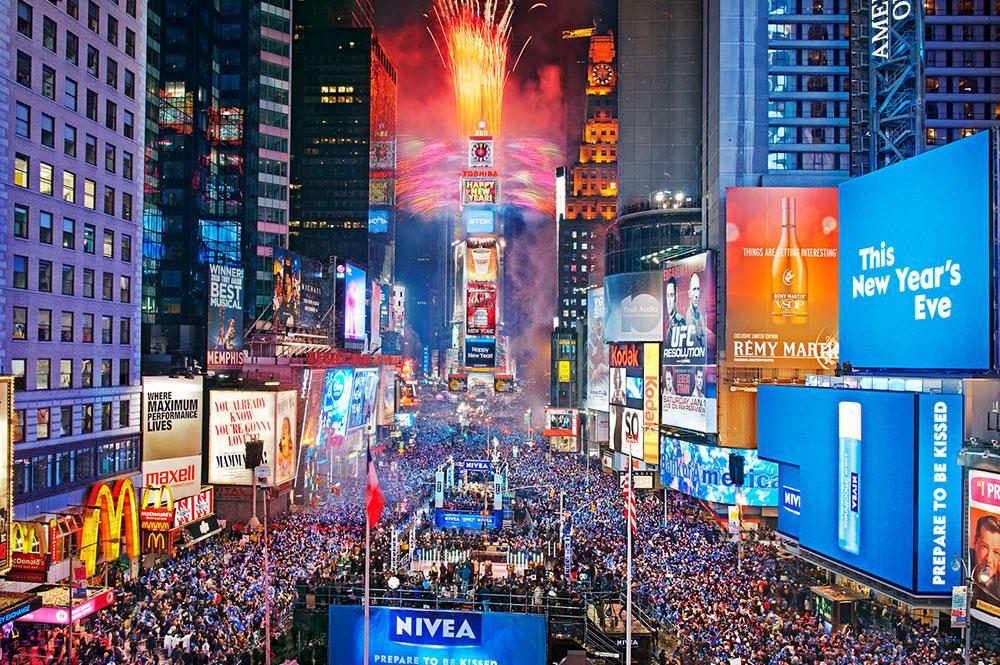 Vip Новый год на Times Square в NY