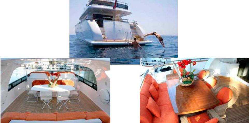Noleggio di yacht a Todi Prezzi